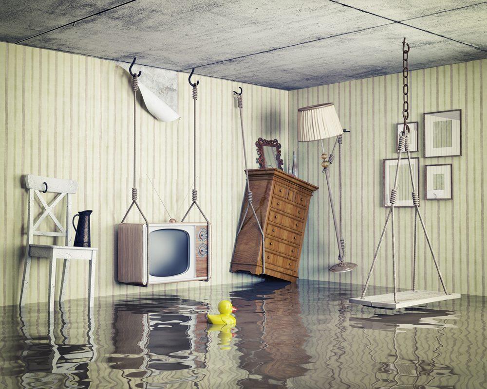 Jak osuszyć mieszkanie po zalaniu?