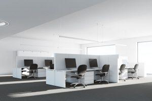 Ścianki działowe w aranżacji biura – czy warto?