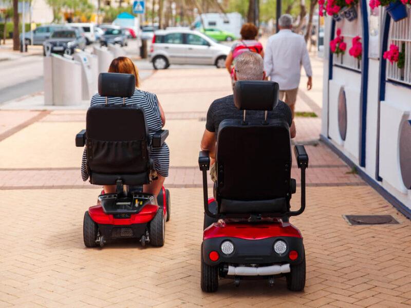Mobilność i niezależność, czyli skutery inwalidzkie